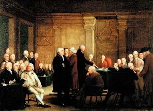 Конгресс голосует за независимость