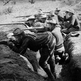 Американские солдаты на Филиппинах