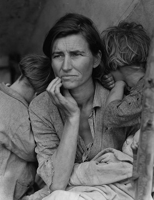 Иммигрантка с детьми