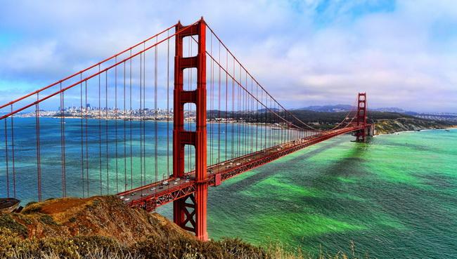 golden gate bridge zolotie vorota