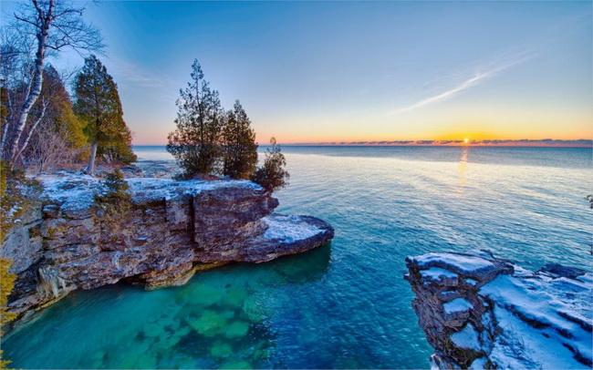 Великие озера Америки Озеро Мичиган